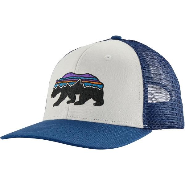 Patagonia Fitz Roy Bear Trucker Hat WHI