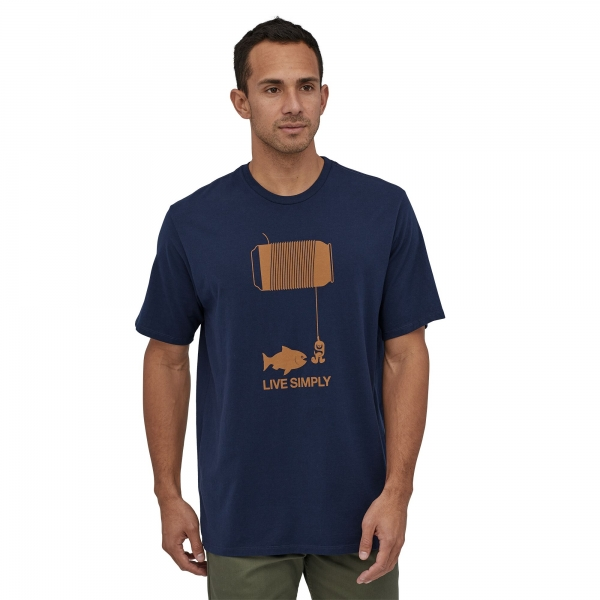 Patagonia Men's Live Simply Happy Hour Organic T-Shirt