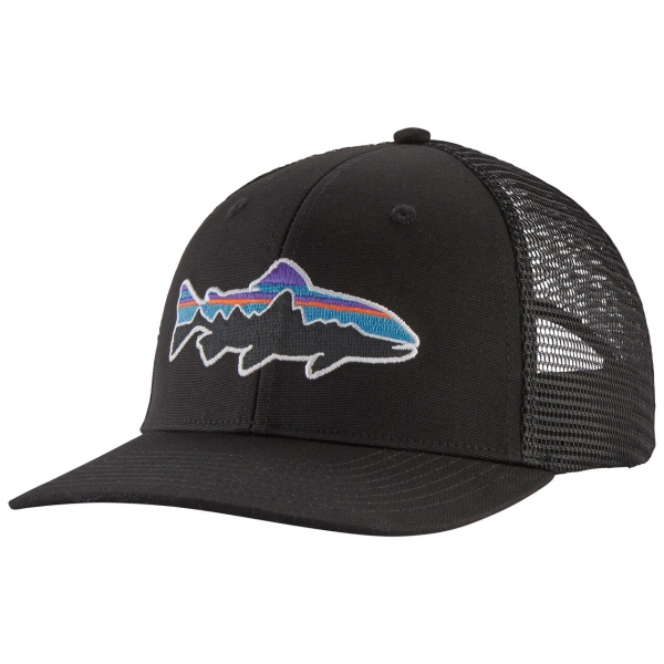 Patagonia Fitz Roy Trout Trucker Hat BLK