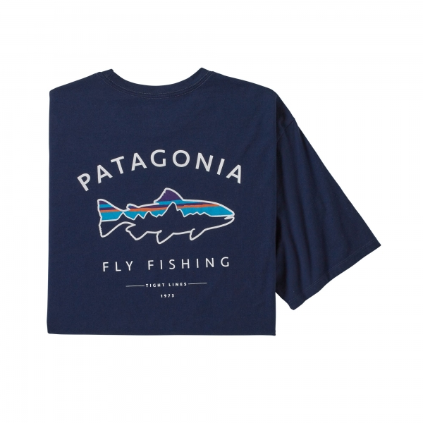 Patagonia Men's Framed Fitz Roy Trout Organic T-Shirt CNY