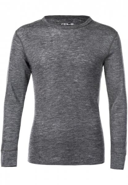 Mols Cornell Merino Wool Top - Black - 5XL