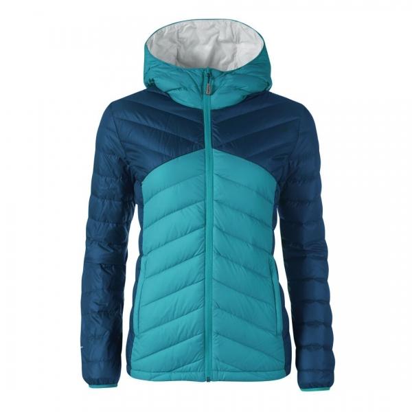 Halti Huippu Women's Down Jacket Capri Blue