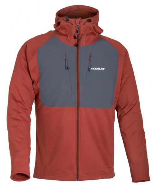 Guideline Alta Hood Jacket Brick