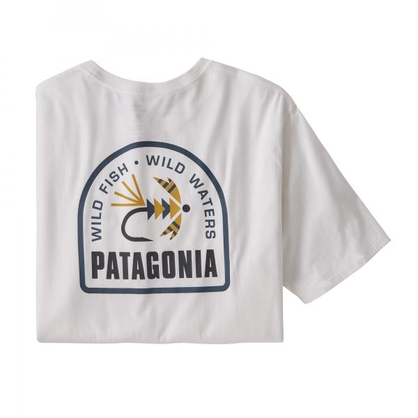 Patagonia Soft Hackle Organic Cotton T-Shirt WHI
