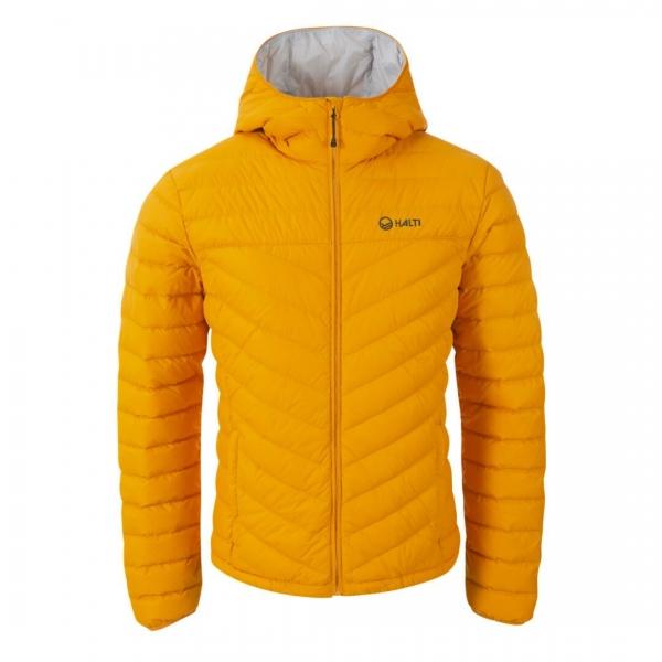 Halti Huippu II Men's Down Jacket Golden Yellow